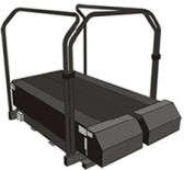 Force Plate Treadmill